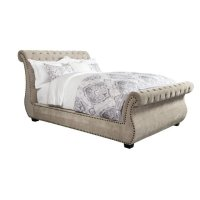 Claire Khaki King Bed 6/6 Product Image