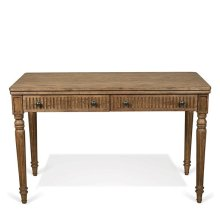 Northcote Writing Desk Heathered Oak finish