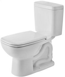 White D-code Two-piece Toilet