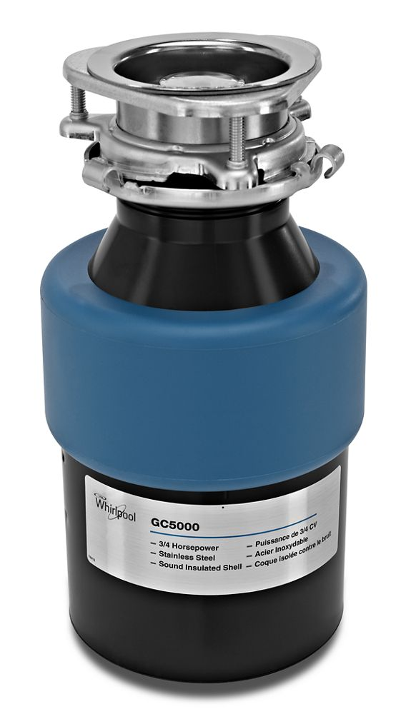 Gc5000xe Whirlpool 3 4 Hp In Sink Disposer Other Oliver