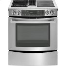 "30"" Slide-In Modular Electric Downdraft Range with Convection, Stainless Steel Product Image"
