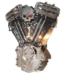 """15""""W Motorcycle Motor Wall Sconce"""