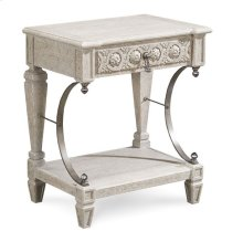 Arch Salvage Gabriel Bedside Table - Mist