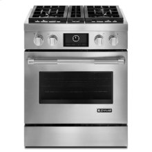"Pro-Style® 30"" Dual-Fuel Range with MultiMode® Convection"