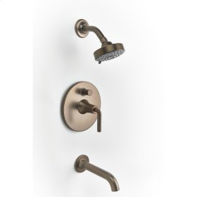 Bronze River (Series 17) Tub and Shower Trim
