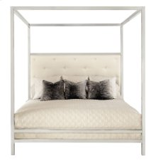 Queen-Sized Landon Metal Poster Bed