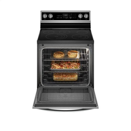6.4 Cu. Ft. Smart Freestanding Electric Range with Frozen Bake Technology