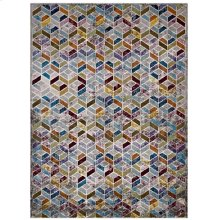 Laleh Geometric Mosaic 5x8 Area Rug in Multicolored