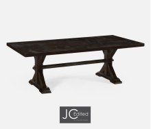 "90"" Solid Dark Ale Dining Table"