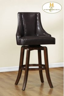 Counter Height Chair, Brown Product Image