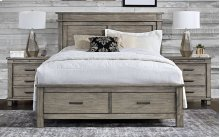 CAL KING STORAGE BED