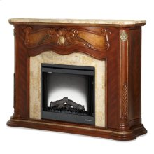 Fireplace W/electric Firebox Insert