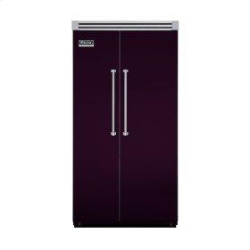 "Plum 42"" Side-by-Side Refrigerator/Freezer - VISB (Integrated Installation)"