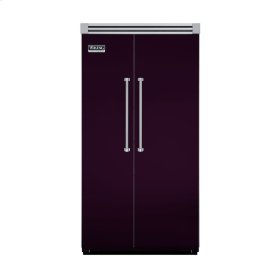 "Plum 42"" Side-by-Side Refrigerator/Freezer - VISB (Integrated Installation)"