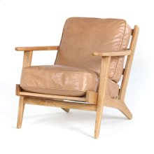 Palomino Cover Smoked Drift Oak Finish Brooks Lounge Chair