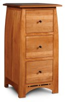 Aspen File Cabinet with Inlay, 3-Drawer Product Image