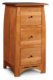 Aspen File Cabinet with Inlay, 3-Drawer