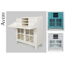 Avery Accent Desk - Dove