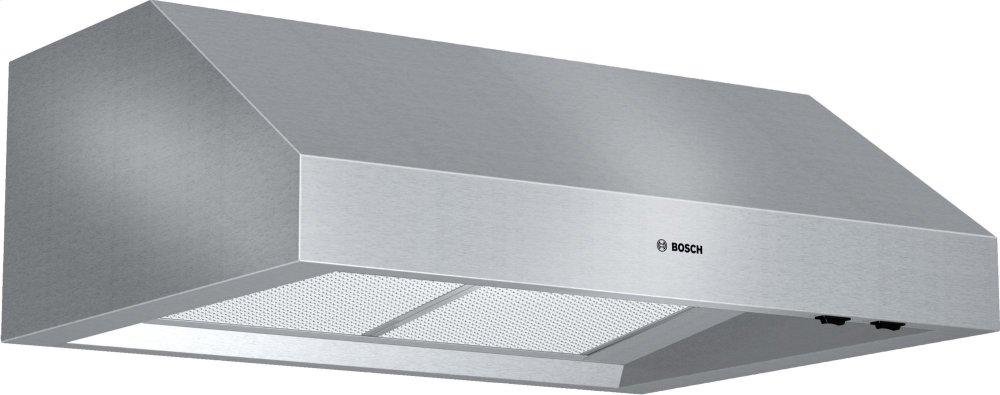 "800 Series, 30"" Under-cabinet Wall Hood, 600 CFM  STAINLESS STEEL"