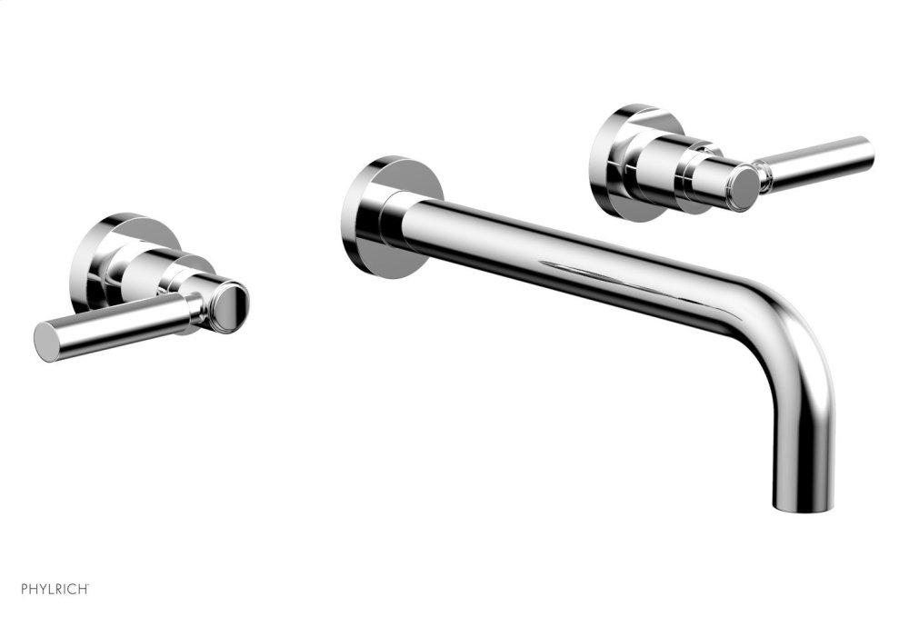 Basic Wall Tub Set - Lever Handles D1130 - Polished Chrome