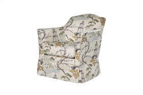 Claud II Upholstered Chair - Upholstered & Skirted