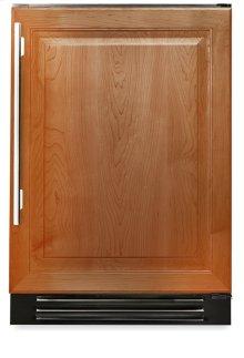 24 Inch Overlay Solid Door Undercounter Freezer - Left Hinge Overlay Solid