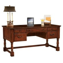 office@home Weathered Cherry Desk