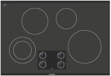 30 Black Electric Cooktop 300 Series - Black