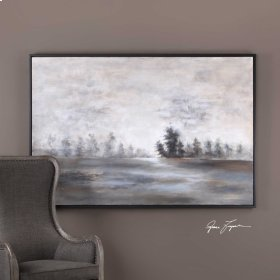 Evening Mist Hand Painted Canvas