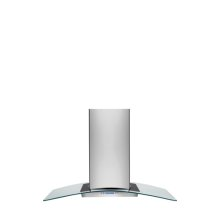 Multi-Brand 42'' Glass and Stainless Canopy Island-Mount Hood