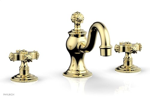 MARVELLE Widespread Faucet 162-01 - Polished Brass