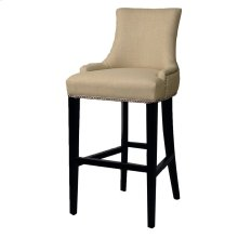 Charlotte Fabric Bar Stool, Linen