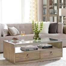 Sophie - Rectangular Coffee Table - Natural Finish