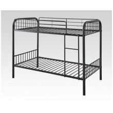 Dark Brown Twin/twin Bunkbed