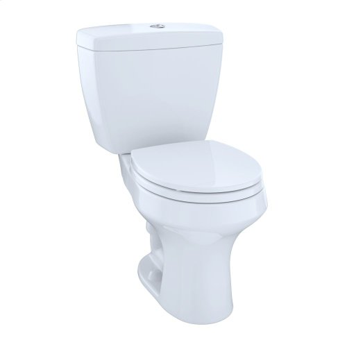 Rowan™ Two-Piece Toilet, 1.6 GPF & 1.0 GPF, Round Bowl - Cotton