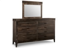 Chattanooga 8 Drawer Long High Dresser