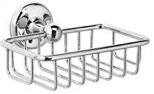 Satin Nickel (us15) Soap basket