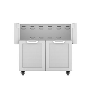 "Hestan36"" Hestan Outdoor Tower Cart with Double Doors - GCD Series - Steeletto"