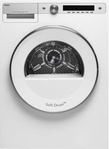White Style Vented Dryer