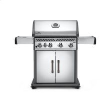 Rogue® 525 Propane Gas Grill with Range Side Burner