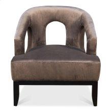 Luppy Chair, Grey Velvet