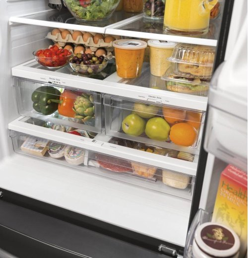 SCRATCH & DENT- GE® ENERGY STAR® 20.8 Cu. Ft. French-Door Refrigerator