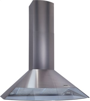 "35-7/16"" Stainless Steel, Chimney Hood, Internal Blower-CLOSEOUT"
