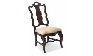 Continental Splat Back Side Chair - Vintage Melange