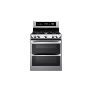 LG Appliances6.9 cu. ft. Gas Double Oven Range with ProBake Convection(R) and EasyClean(R)
