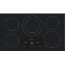 "36"" Width Induction Cooktop, European Black Mirror Finish Made With Premium Schott ®Glass Product Image"