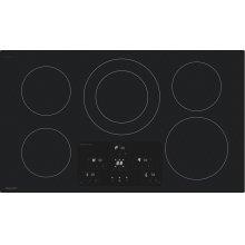 "36"" Width Induction Cooktop, European Black Mirror Finish Made With Premium Schott ®Glass"