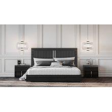 Modrest Ari Italian Modern Grey Bed