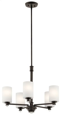 Joelson 5 Light Chandelier Olde Bronze®