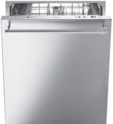 Pre-Finished 24 Dishwasher with Finger Print Proof Stainless Steel Door and Professional Handle